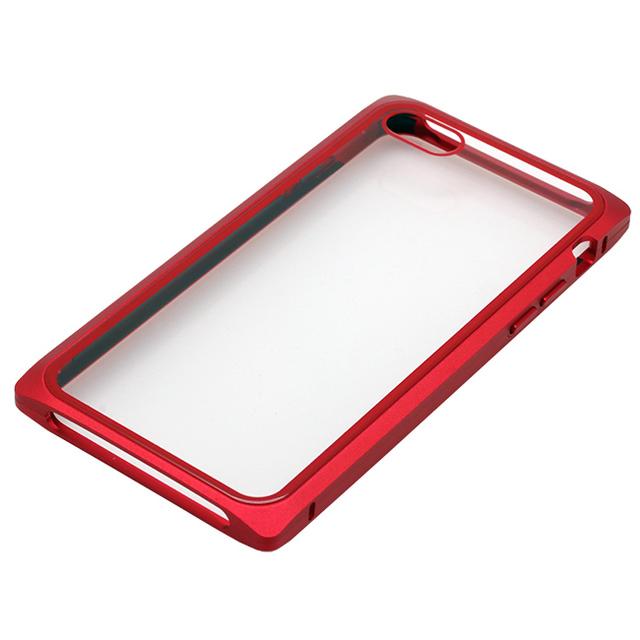 iPhone 8/7用 マグネットアルミバンパーケース